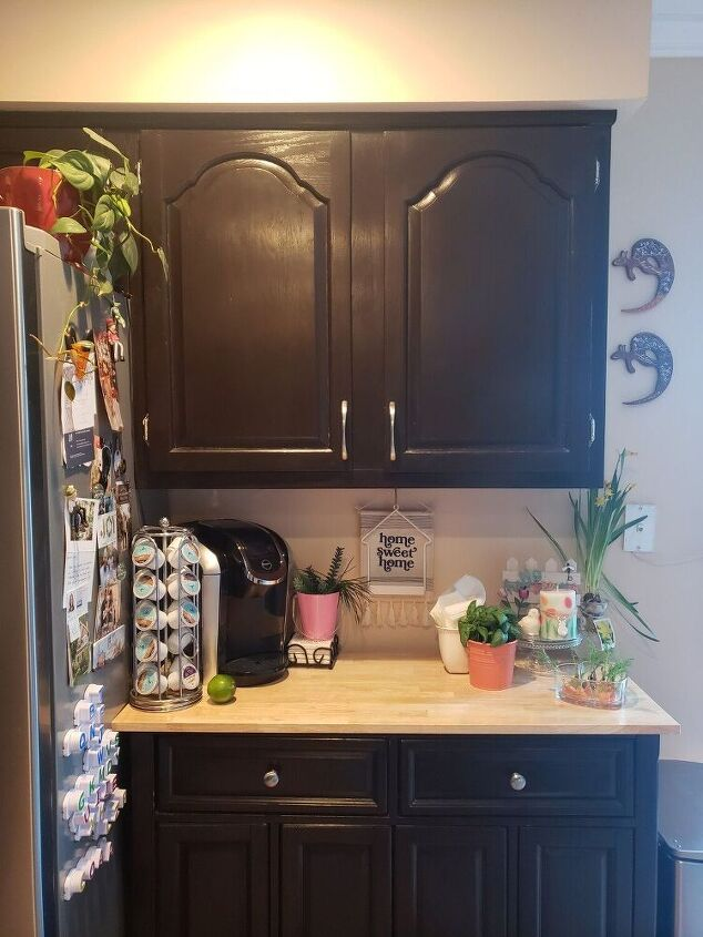 how i converted my kitchen cabinet into trendy shelving