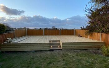 Raised Deck Build