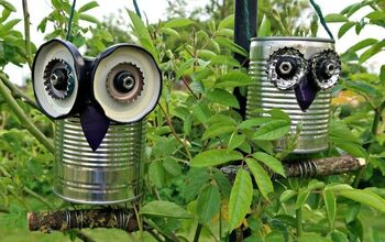 How To Make A Recycled Tin Can Owl