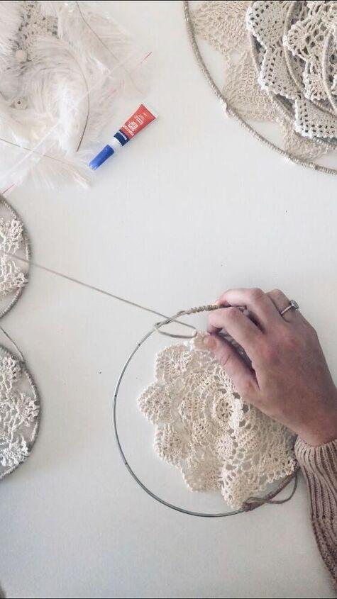 Threading the twine through the next petal