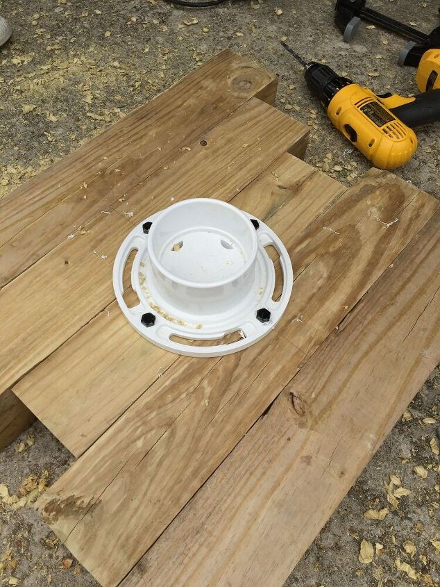 covered porch table