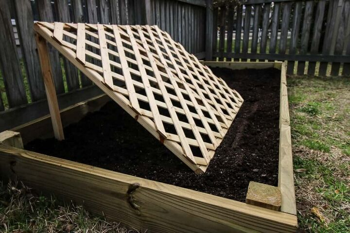 how to build a simple inexpensive raised garden bed