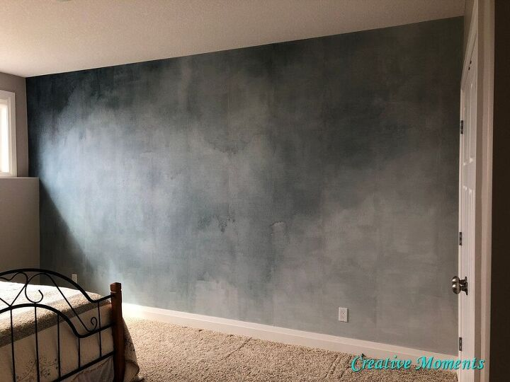 amazing bedroom wall in a few hours