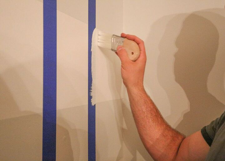 how to paint your walls with buffalo checks