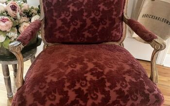 How to Paint Chair Upholstery Fabric