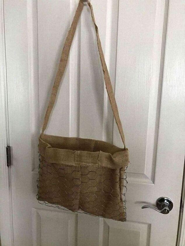 chickenwire garden purse