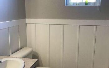 Bathroom Board And Batten Wall
