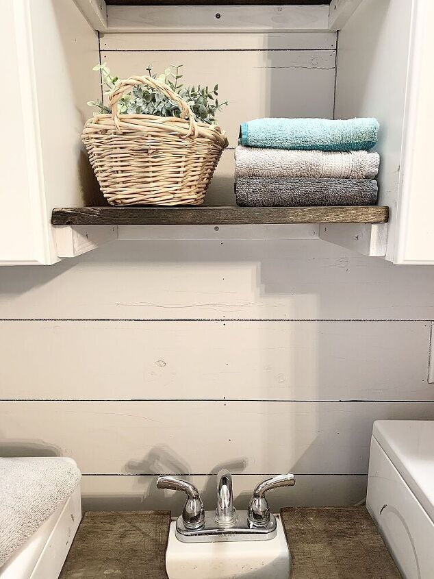 0 shiplap and a laundry room makeover