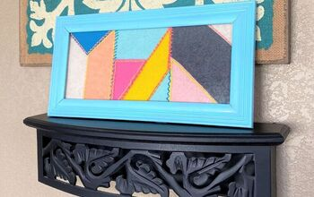DIY Framed Felt Quilt
