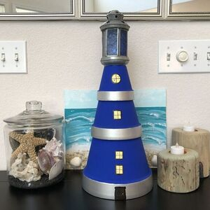 Lighthouse Flower Pots