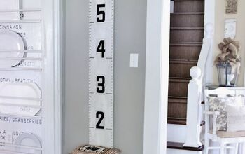 Growth Chart With Vintage Marquee Numbers