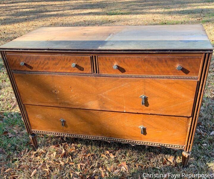 a free vintage dresser makeover