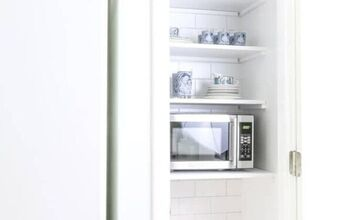 Great Plan for Hiding Your Microwave