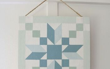 How to Make a Faux Vintage Barn Quilt