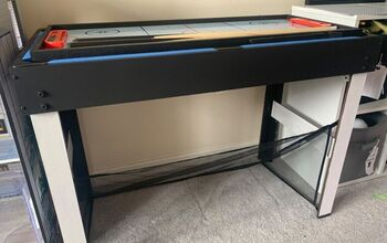 Game Table Revamp With Chalk Paint