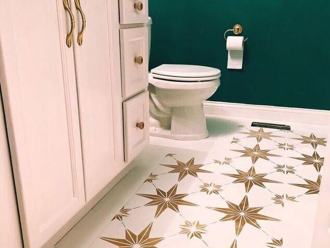 stenciling ceramic tile