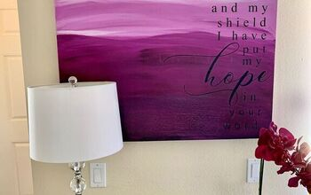 Turn Your Favorite Quote Into Wall Art With Transfer Paper