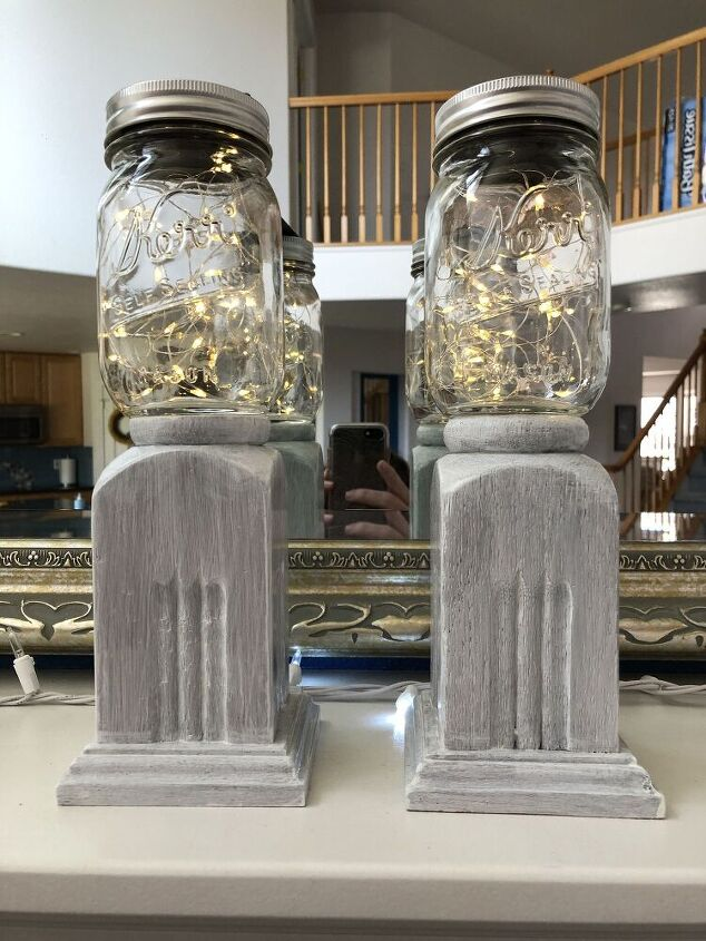 how to update thrift store candle holders