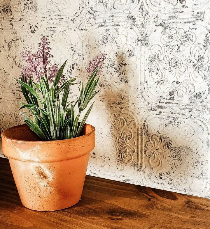 how to create a pantina background using paintable wallpaper