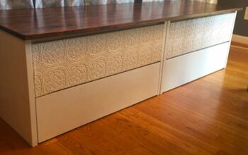 Dresser to Banquette Transformation