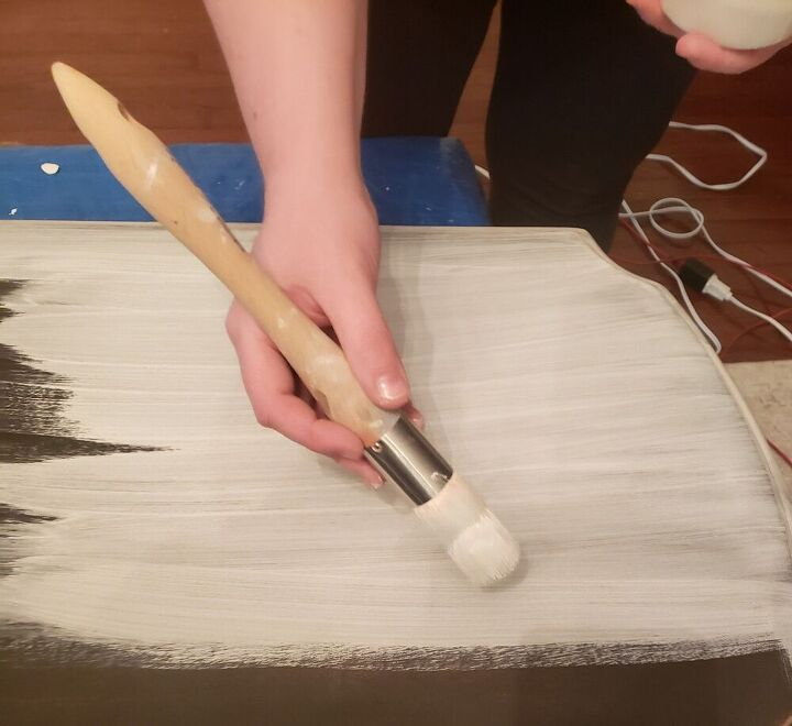 milk paint makeover