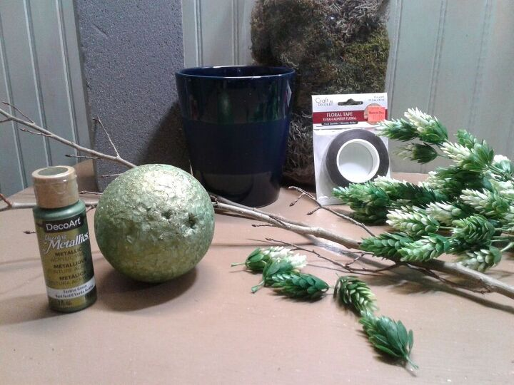 how i made my first topiary