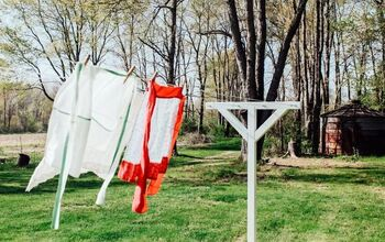 DIY Old Fashioned Clothesline
