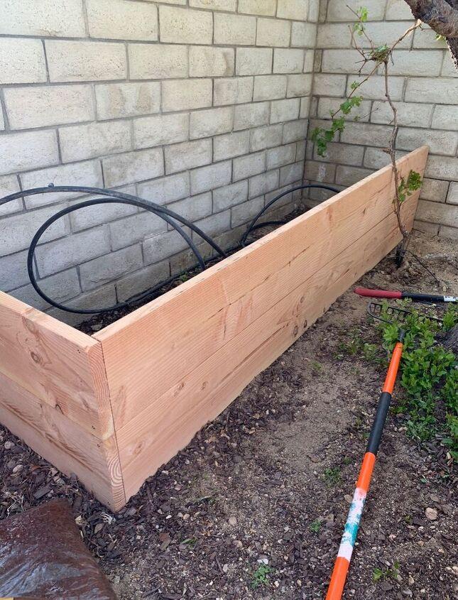 Planks secured