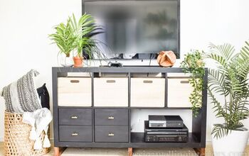 TV Console Makeover With Blue Ridge Tools