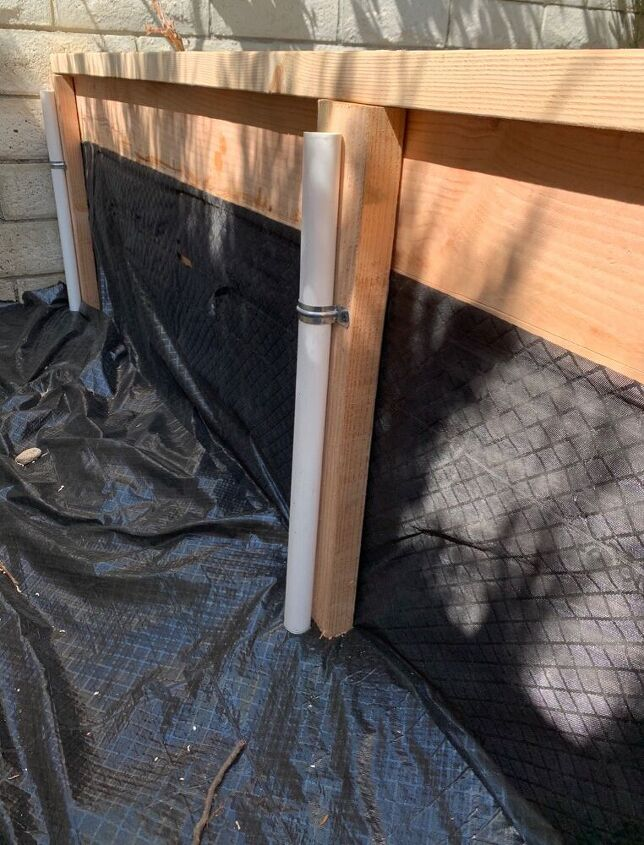 The Base for the PVC Hoop Cover