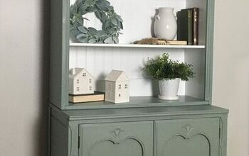 Adding Color Gives A Hutch A Bright Future