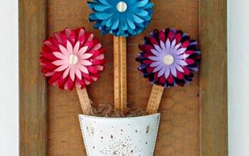 Repurposed Plastic Balls Into DIY Flowers