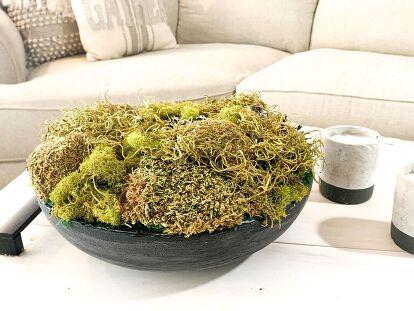 Moss Bowl Centerpiece