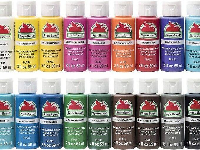 q product review apple barrel craft paints