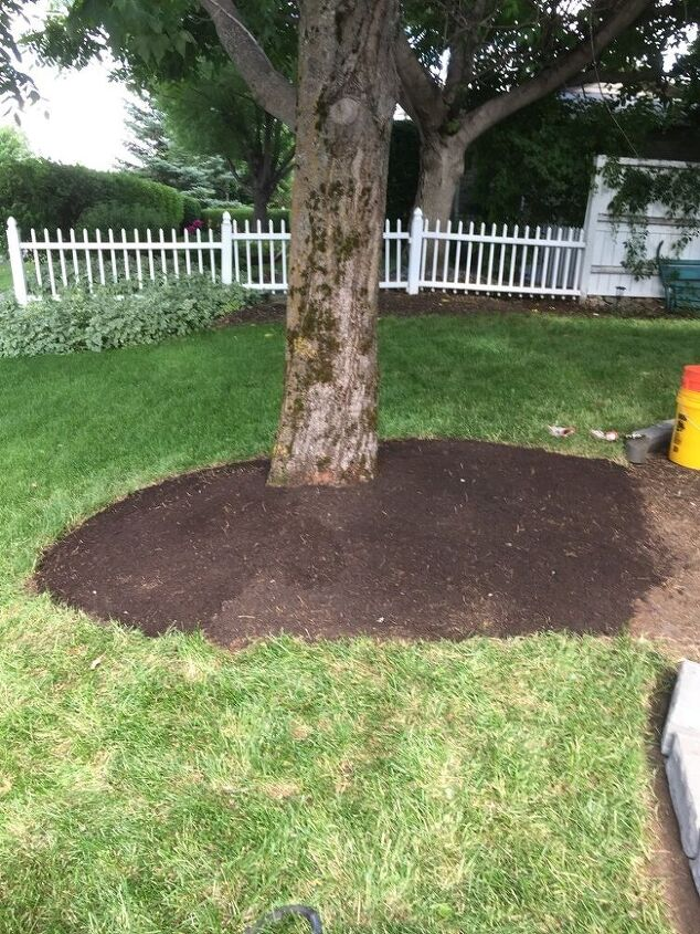 front yard landscape project zone 2