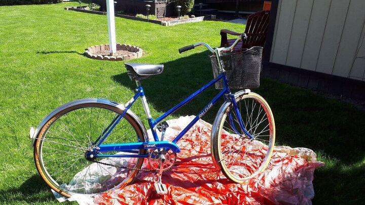 old bike makeover