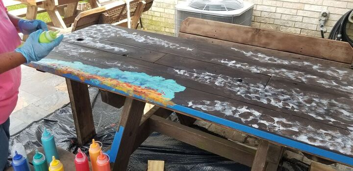 a picnic table revival