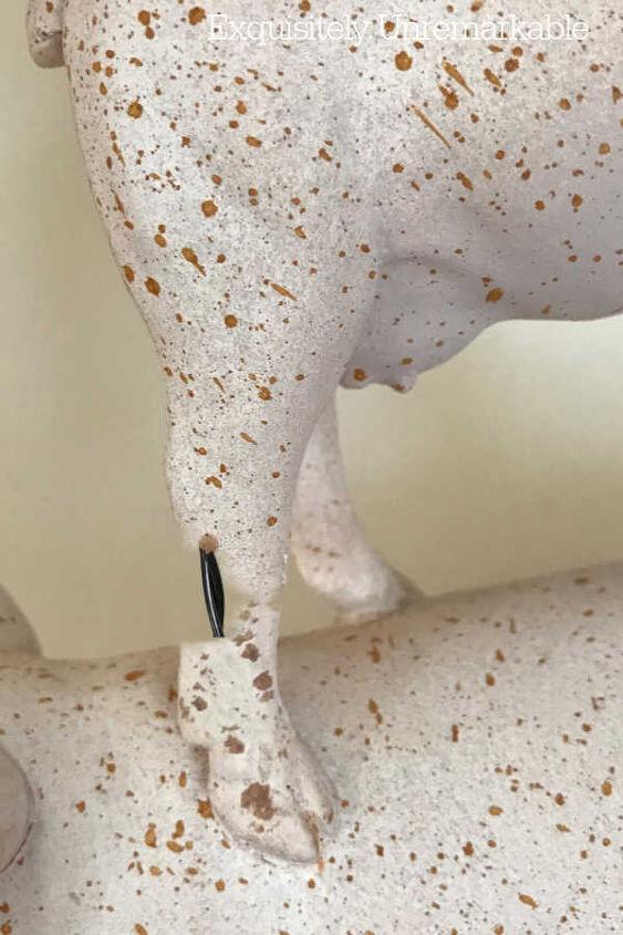 resin statue fix