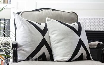 Turn an Old Tablecloth Into a Modern Throw Pillow