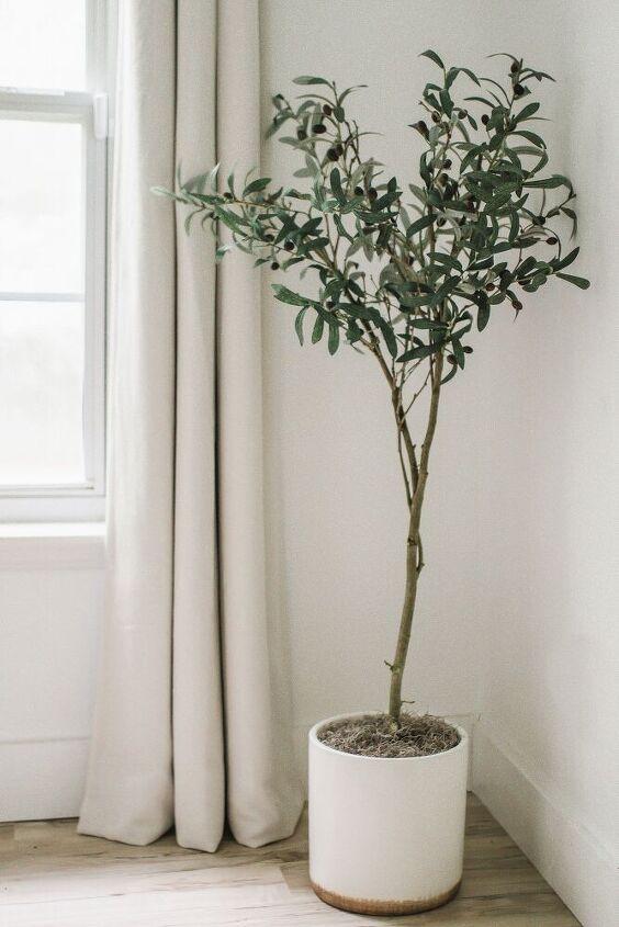 diy faux olive tree