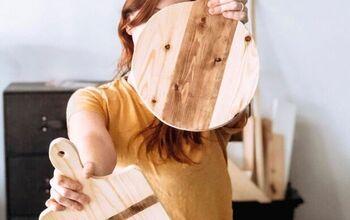 Scrap Wood Decorative Cutting Board