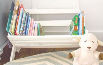 Easy DIY Book Storage