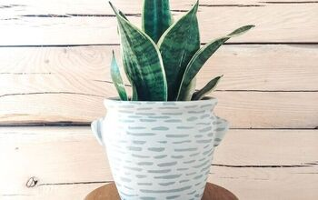 Painted Planter Pot