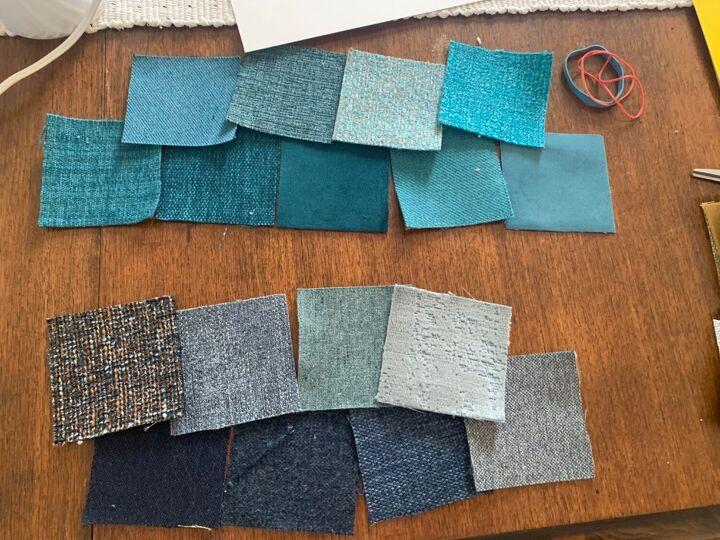 fabric sample artwork