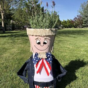 Uncle Sam Pot Person