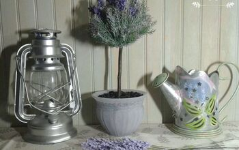 Create an Easy Lavender Topiary