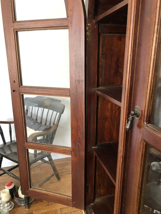 refinishing the arch hutch