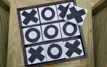 Outdoor Tic-Tac-Toe Game Board