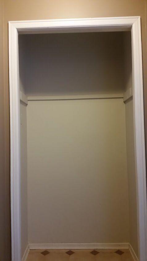 turn a hall closet into a mud nook