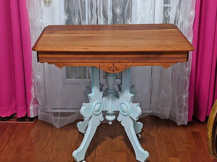 vintage table make over